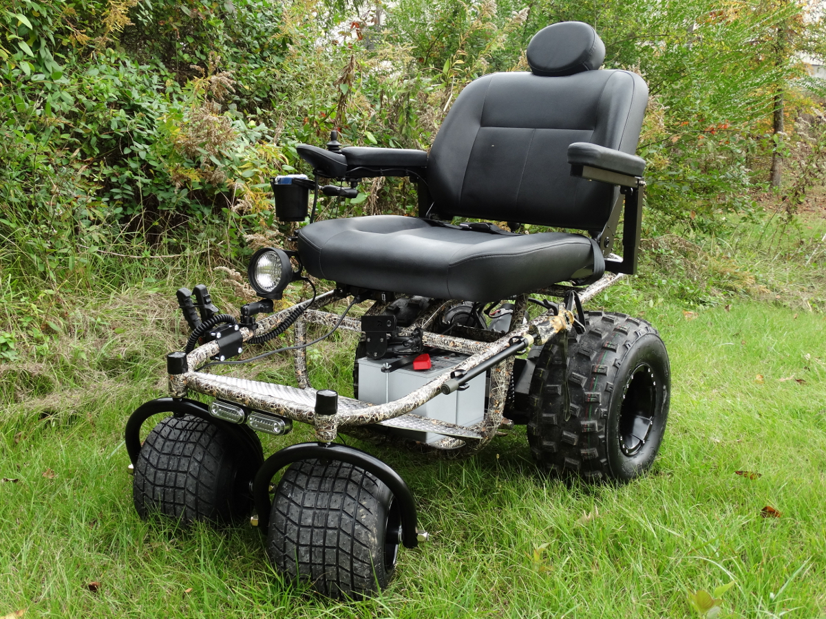 Outdoor Extreme Mobility Powered Wheelchair A New